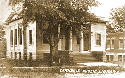 Old Picture of Pawnee City Library